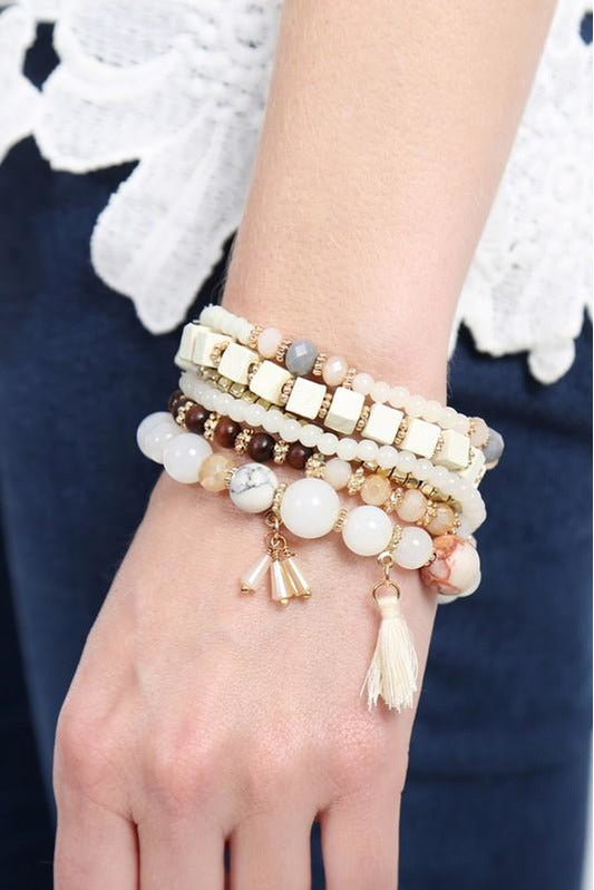 Natural Arm Party Bracelet