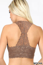 Load image into Gallery viewer, Lace Hourglass Back Bralette