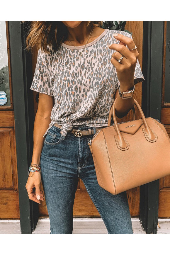 Go Crazy For Leopard Tee