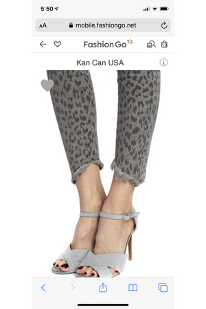 Kan Can Leopard Jeans