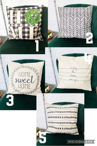 Fun Home Pillow Covers