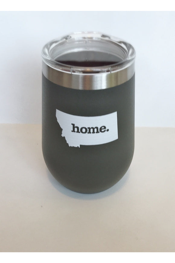 12 oz. Wine Tumbler MT Home (charcoal)