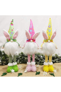 Light Up Gnome Easter Bunny
