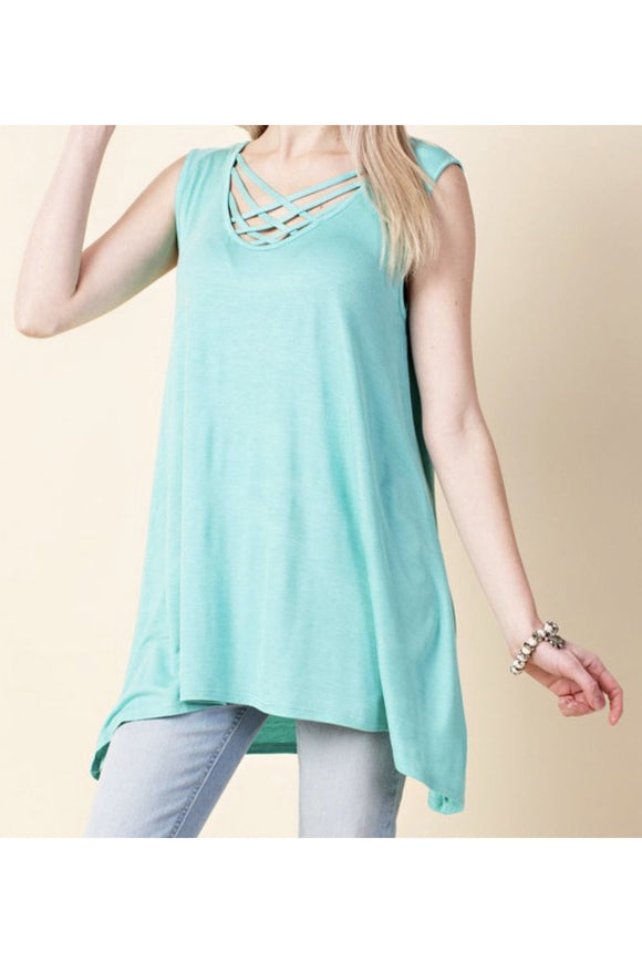 Lovely Summer Tunic Tank