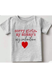 PREORDER Sorry {Boys; Girls] Kids Tee