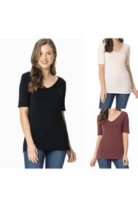 All About the Basic V-Neck