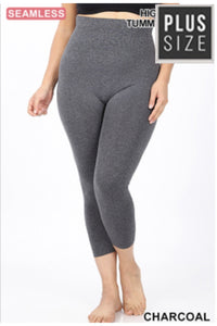 Curvy All About the Basics Capri