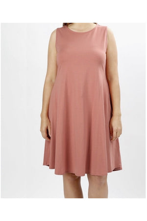 Curvy All About the Basics Dress