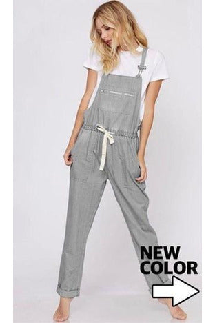 The Best Pair of Denim Overalls (Gray)