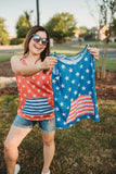 USA Stars & Stripes Tank Tops