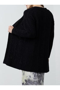 Cable Warm & Cozy Cardigan
