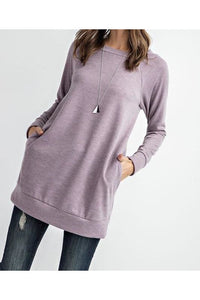 Dreamy Sweater Tunic Top