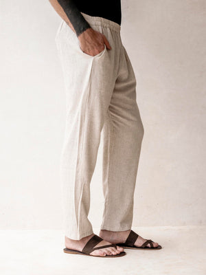 Casual Pants |  Linen and Cotton