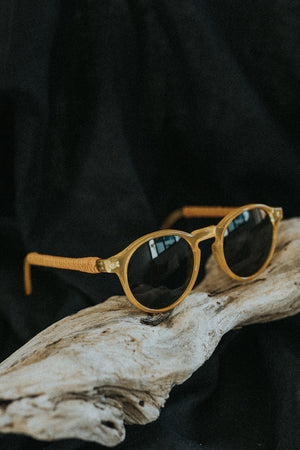 Men's sunglasses - Tobacco