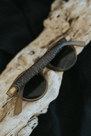 Men's Sunglasses - Brown matte