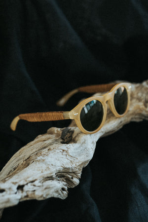 Mustard Gold sunglasses
