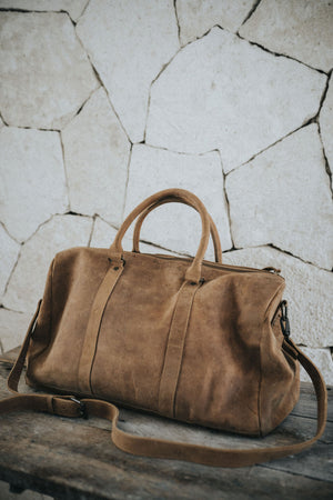 leather, duffle bag, mens leather duffle bag, gym bag, weekend bag, travel bag, carry-on bag,