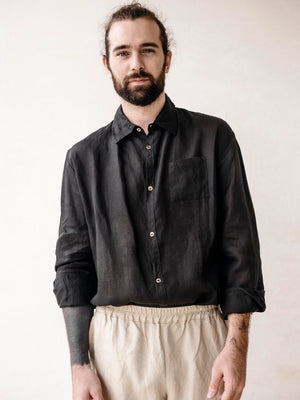 Long sleeve Classic Linen Shirt