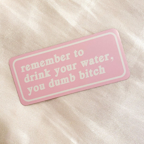 Drink Your Water Magnet