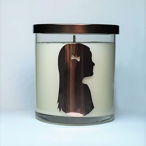 Custom Cameo Candle
