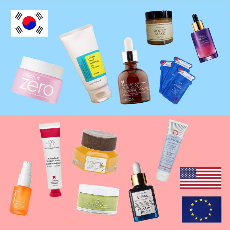 Korean vs. American/Western Skincare
