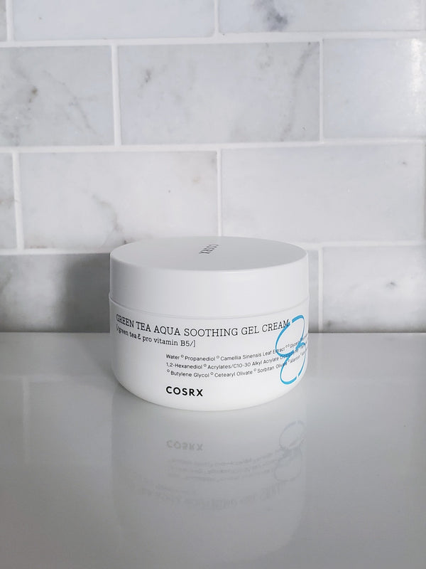COSRX Green Tea Aqua Soothing Gel Cream