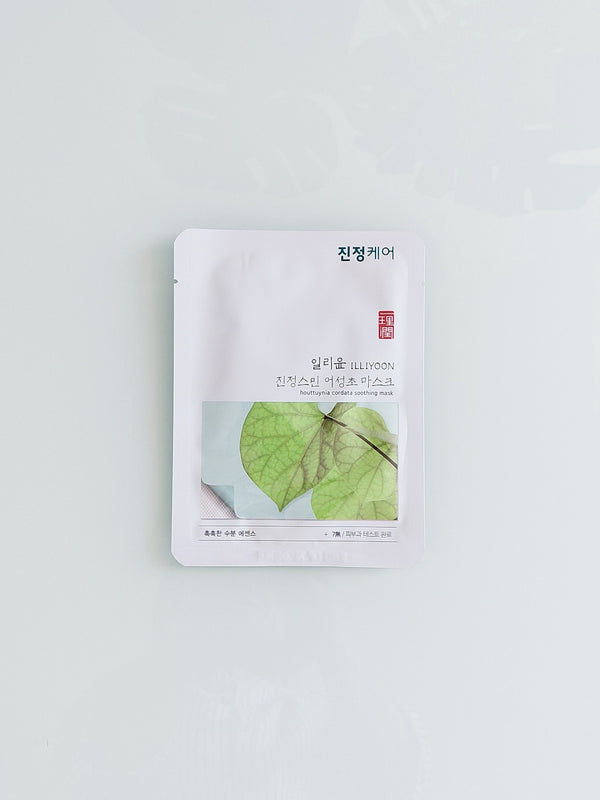 Illiyoon Houttuynia Cordata Soothing Sheet Mask