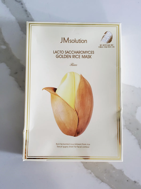JMsolution Lacto Saccharomyces Golden Rice Mask