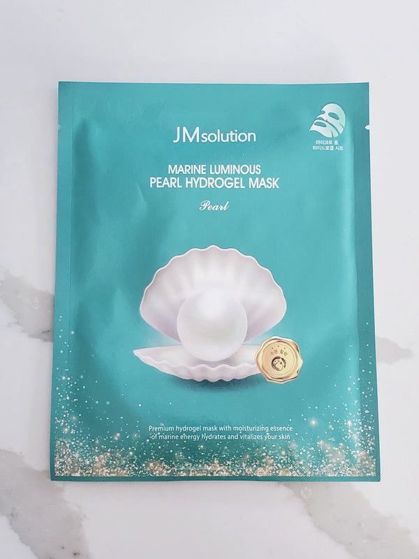 JMsolution Marine Luminous Pearl Hydrogel Mask