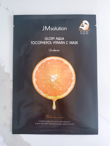 JMsolution Glory Aqua Tocopherol Vitamin C Mask