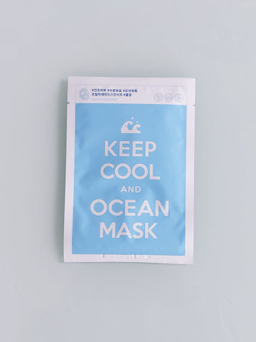 Keep Cool and Ocean Mask