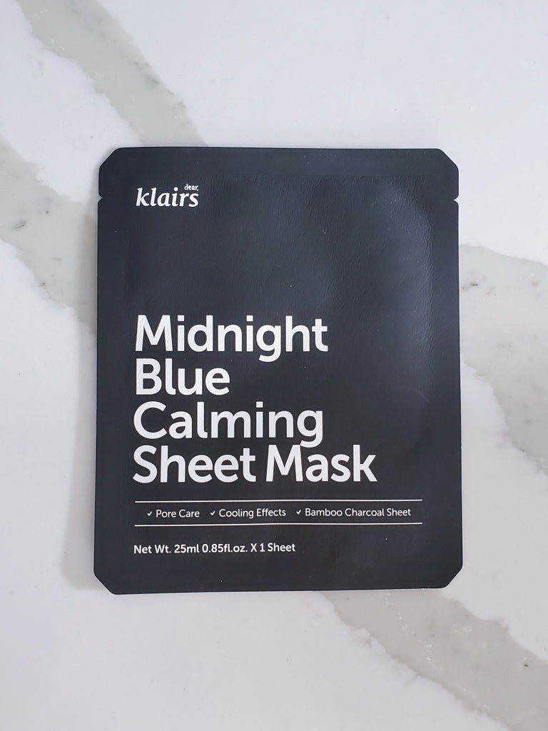 Klairs Midnight Blue Calming Mask