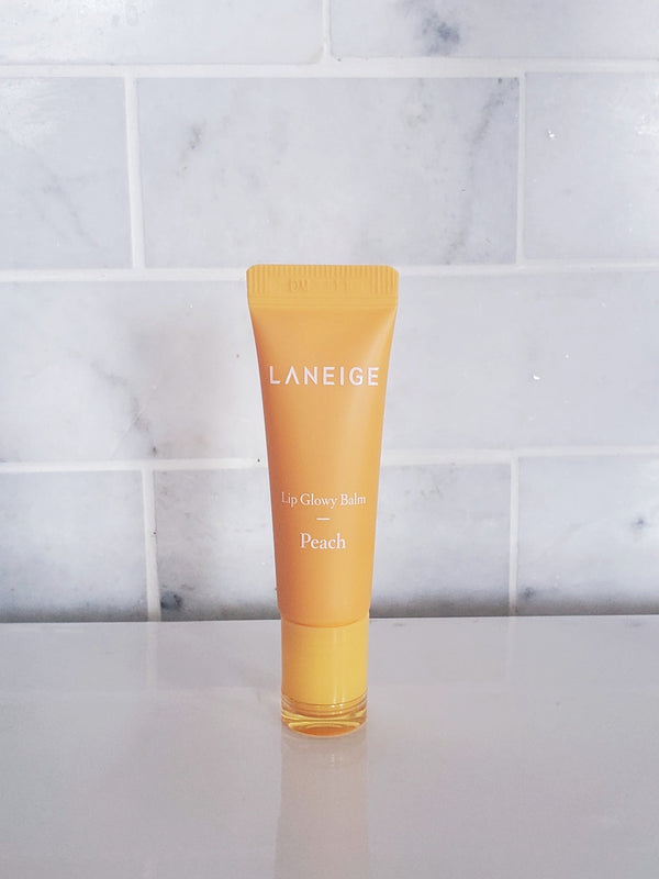 Laneige Lip Glowy Balm Peach