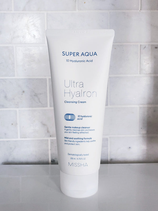 Missha | Super Aqua Ultra Hyalron Cleansing Cream