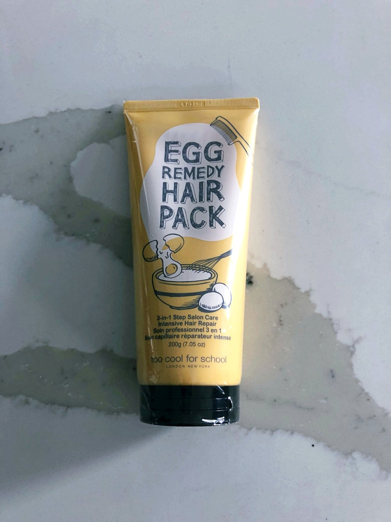 Too Cool for School Egg Remedy Hair Pack