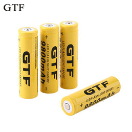 Batterie GTF Rechargeable 18650  3.7V 9800mAh Li-ion