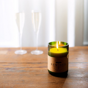 Rewined Champagne Signature Candle