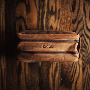 Kodiak Buffalo Leather Dopp