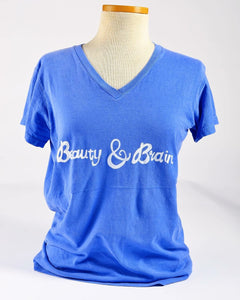 "Short sleeve ""Beauty & Brain"" T Classic"