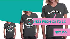 Commit To Conquer Short Sleeve T-shirt