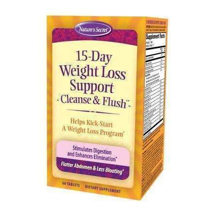 15 Day Weight Loss Support - Cleanse and Flush