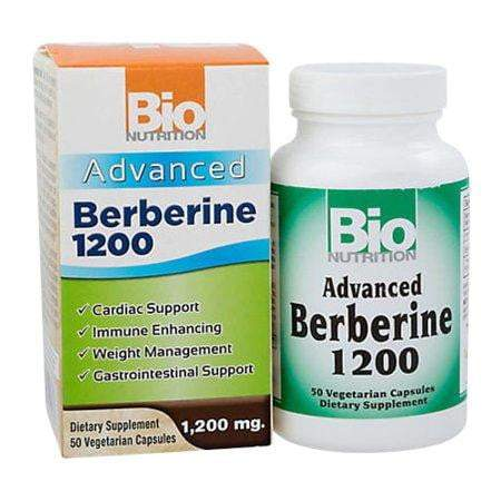 Advanced Berberine - 1,200 mg - 50 Vegetarian Capsules