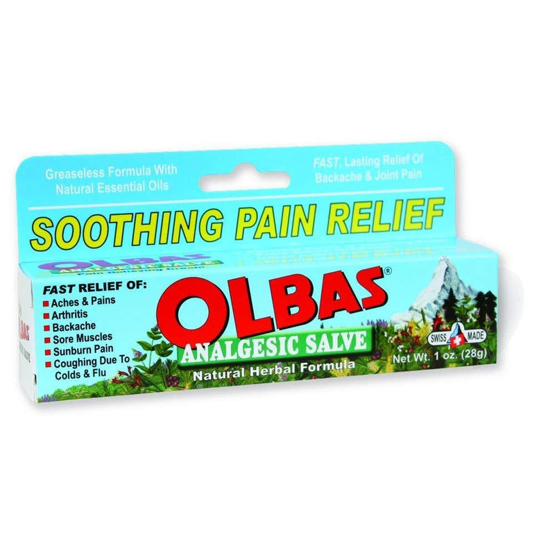 ALBAS ANALGESIC SALVE 1OZ