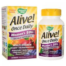 Alive! Once Daily Women's 50+ Ultra 60 caps