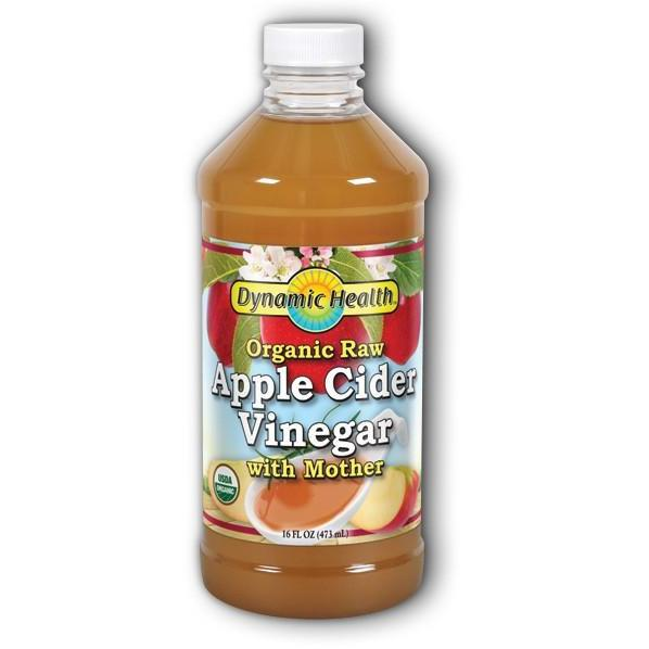 Apple Cider Vinegar with Mother - USDA Organic Cetified - 16oz