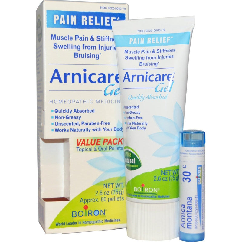 Arnicare Arnica Gel & Value Pack, 2.6oz, 80 Pellets