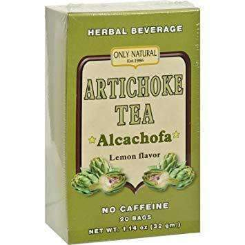 Artichoke Tea - Lemon Flavor 20 Tea Bags