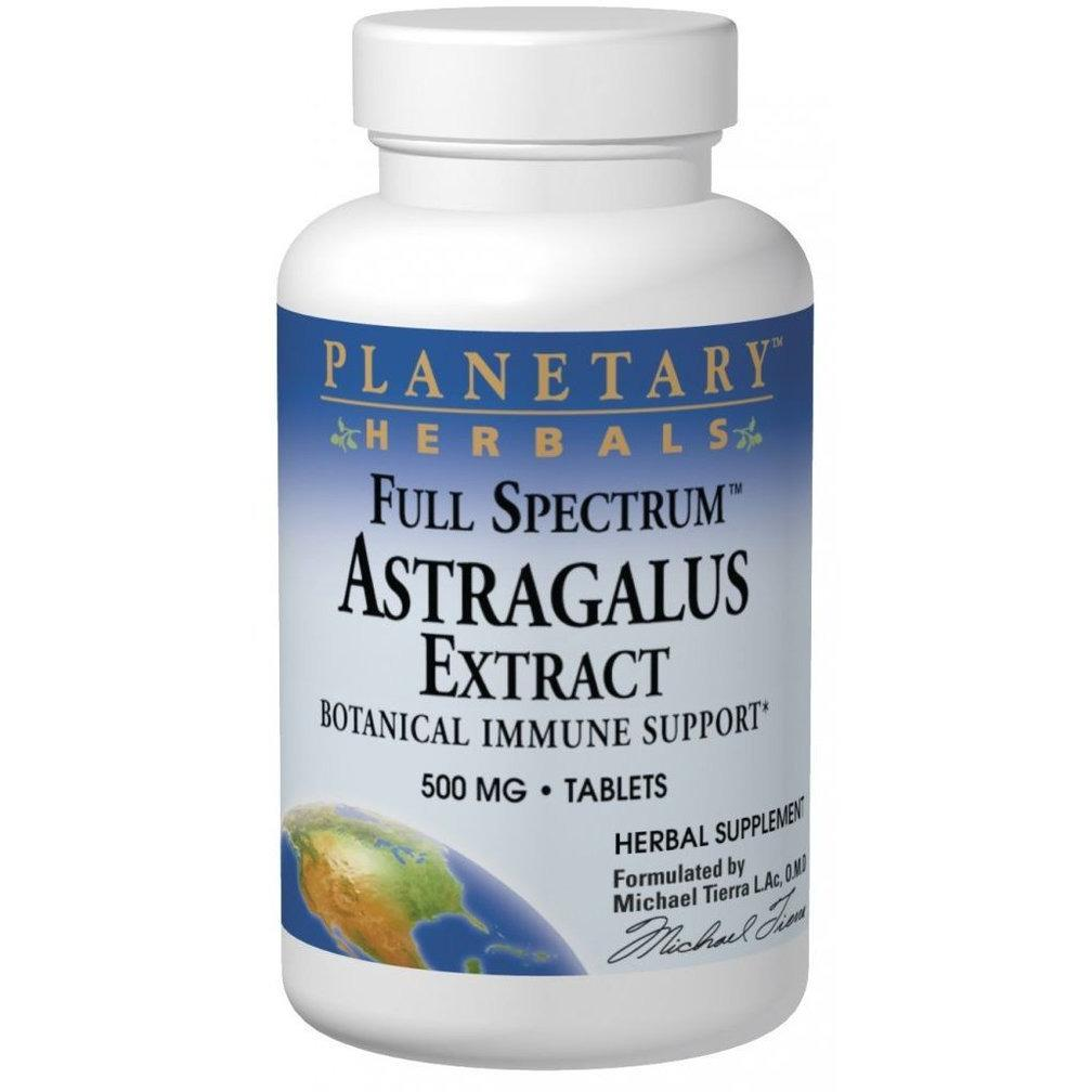 Astragalus Extract - Full Spectrum - 500 mg - 60 Tablets