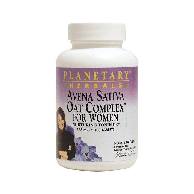 Avena Sativa Oat Complex For Women - 500mg - 50 Tablets
