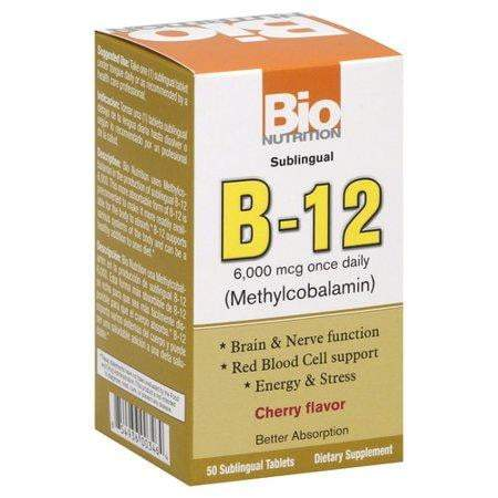 B-12 Sublingual Tablet - 50 Tablets